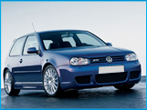Rent a Volkswagen Golf 4